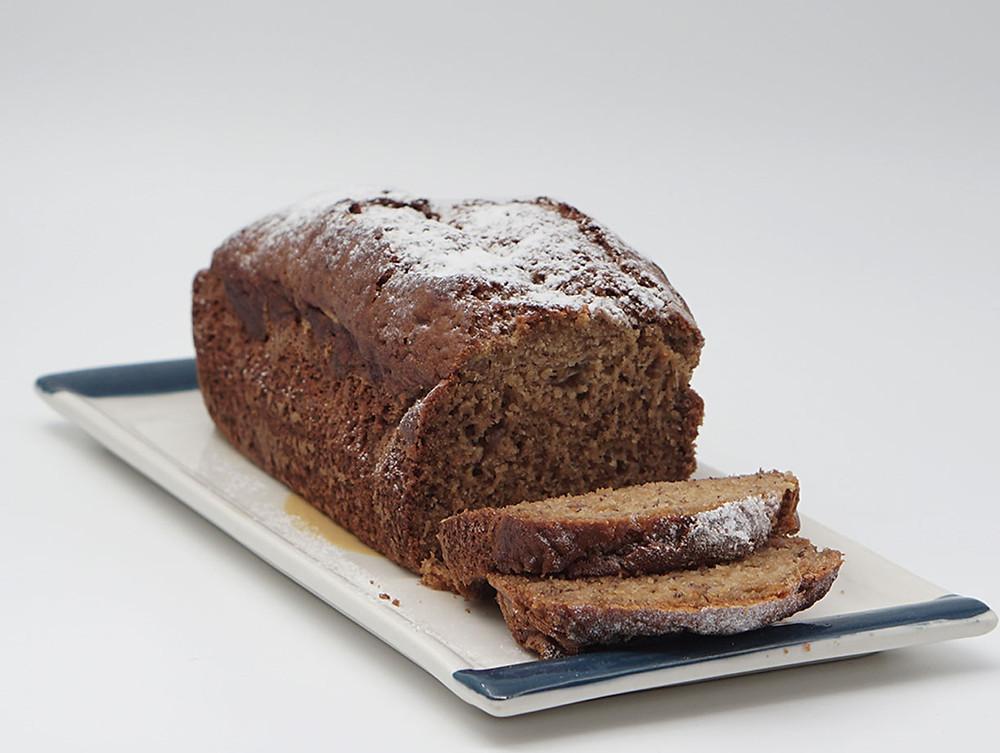 מתכון עוגת לחם בננה