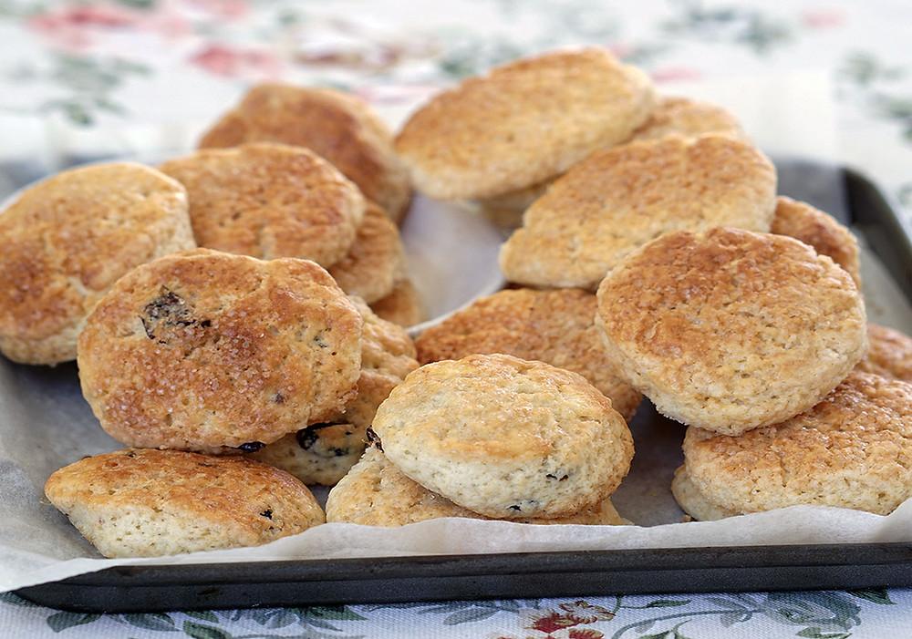 מתכון לסקונס, עוגיות מאמריקה