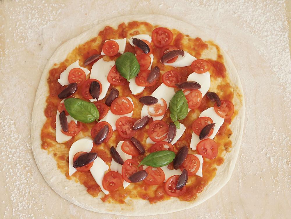תופינים, מתכון פיצה, בצק לפיצה, tufinim