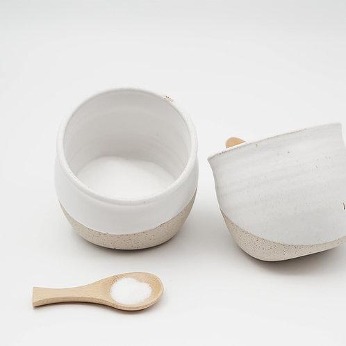 קרמיקה בעבודת יד, hand made pottery, חזיר מלח, salt pig, salt cellar
