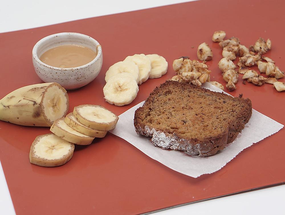 מתכון לטוסט מלחם בננות