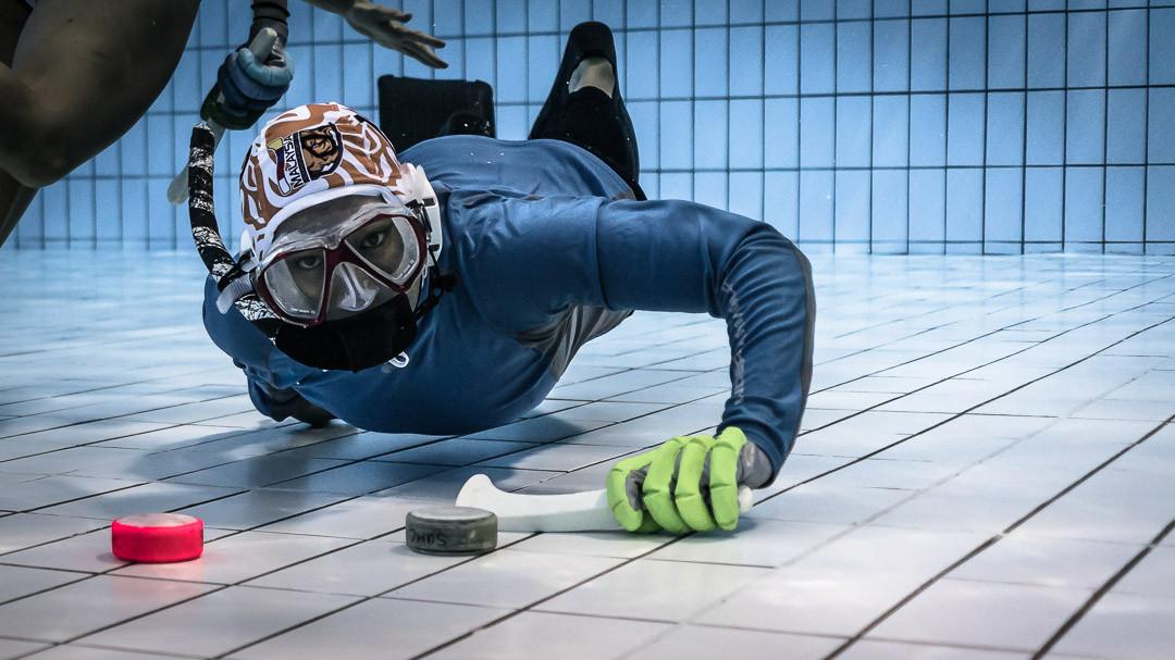 Underwater Hockey Image