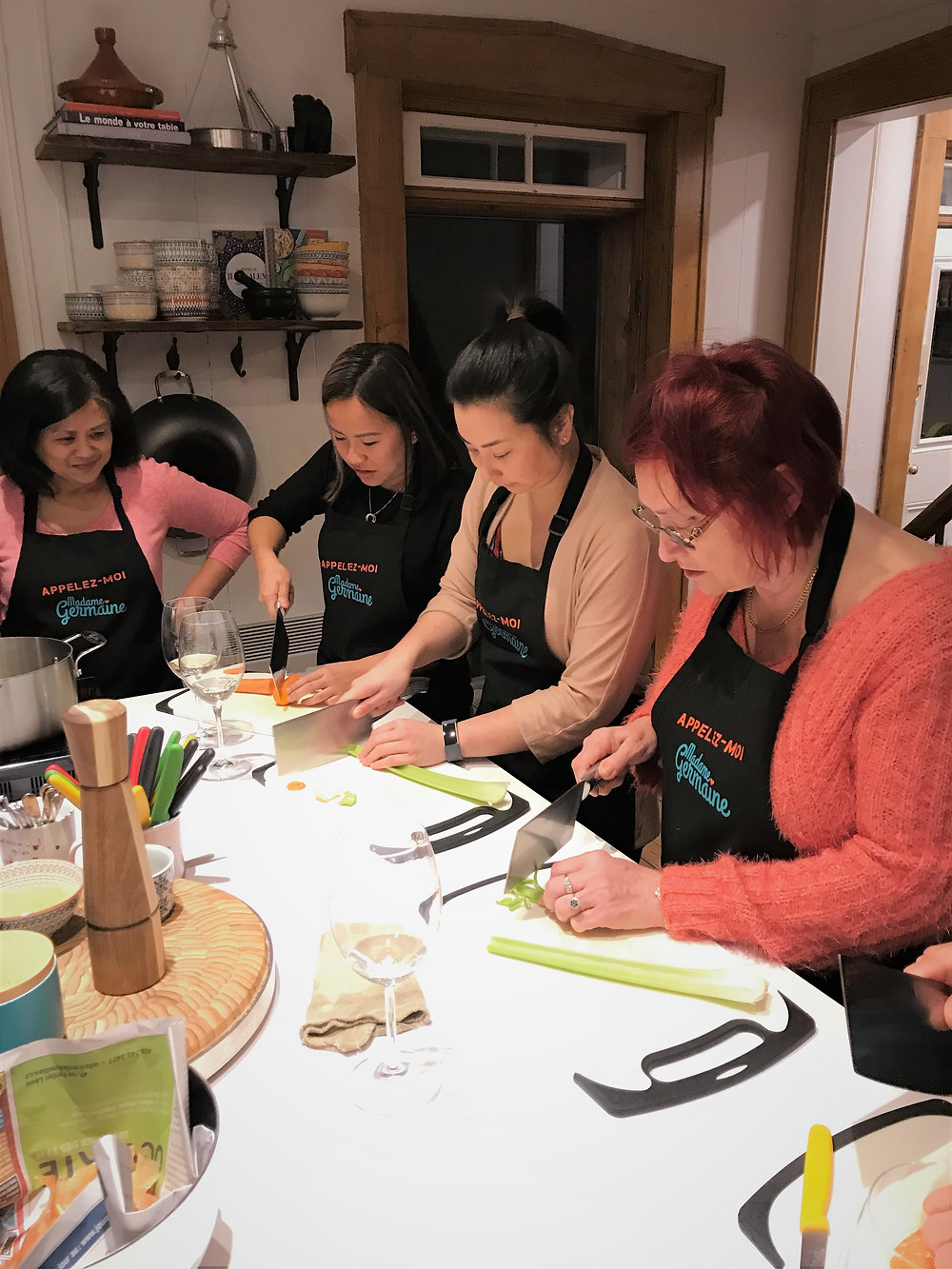 Madame Germaine cooking class