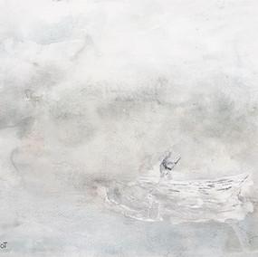 La dame et le bateau