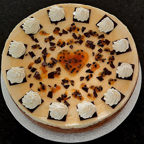 Passion-ate Cheesecake