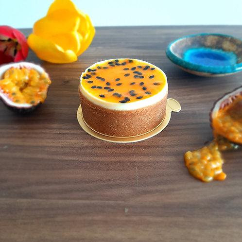 Passion-ate Mini Cheesecake