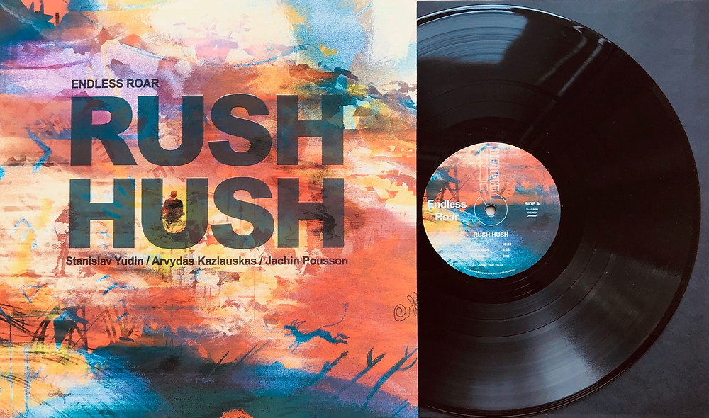 Endless Roar LP Rush Hush Cover