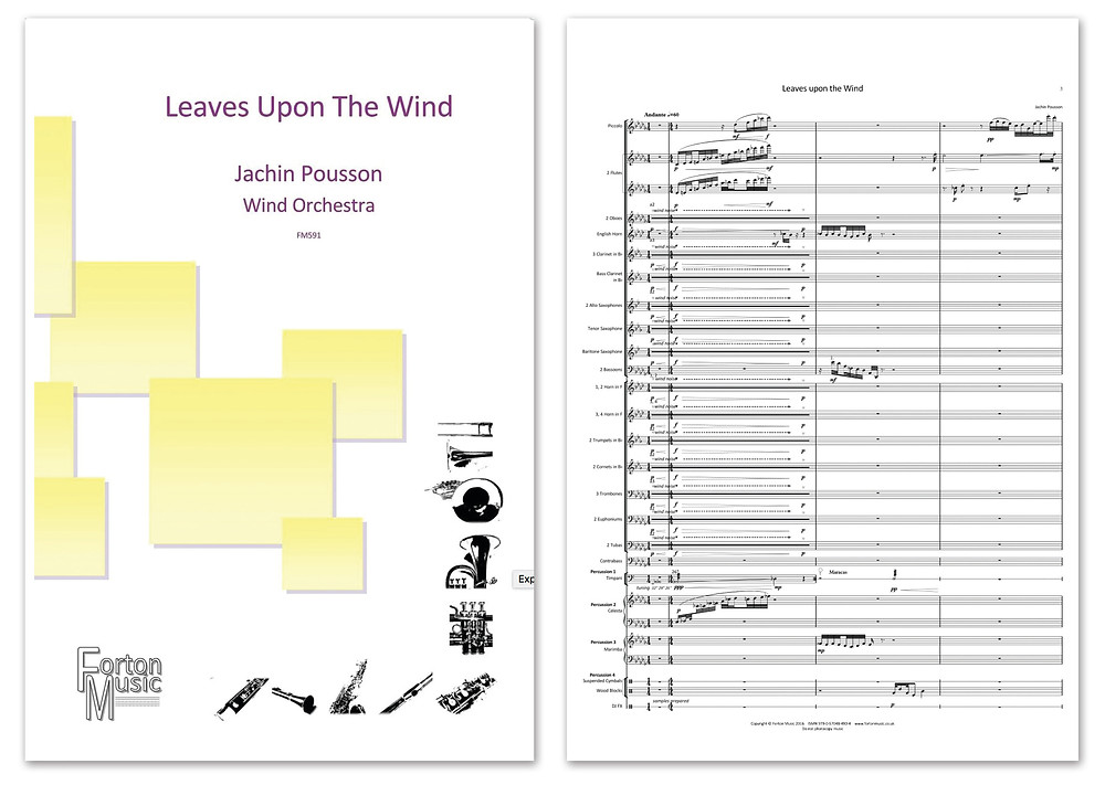 Leaves Upon The Wind now available from Forton Music