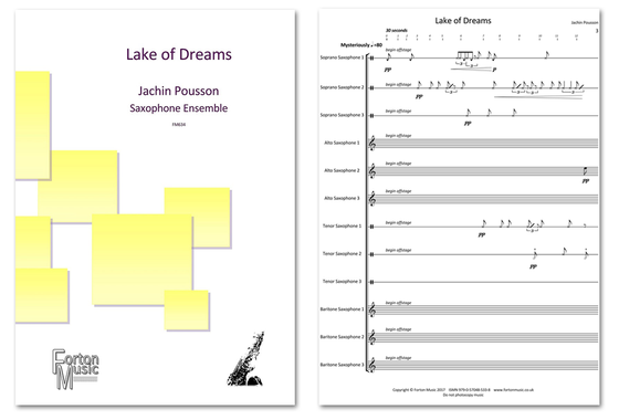Forton Music UK publishes Lake of Dreams