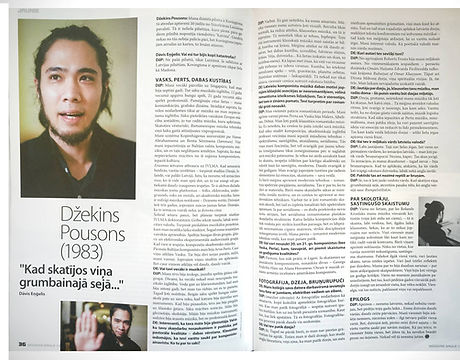 Interview in Muzikas Saule