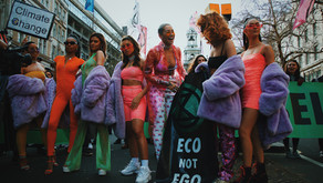 EXTINCTION REBELLION CALLS FOR AN END TO LONDON FASHION WEEK