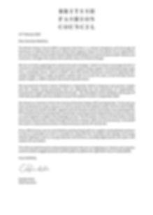 Letter to Extinction Rebellion Feb 2020.