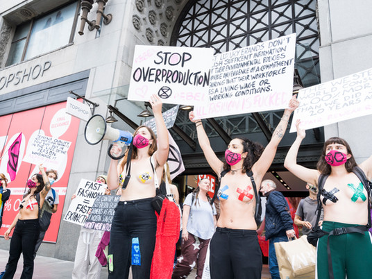XRFA'S NAKED PROTEST