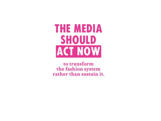 DEAR MEDIA, TELL THE TRUTH