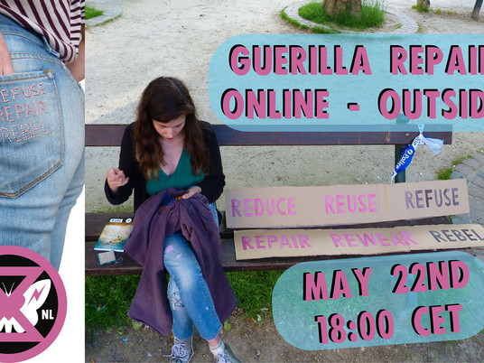 GUERILLA REPAIR ONLINE ACTION WITH COLLACTION
