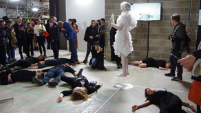 XR BOYCOTT FASHION LAUNCHES WITH 'DIE-IN' AT RCA GRADUATE FASHION SHOW