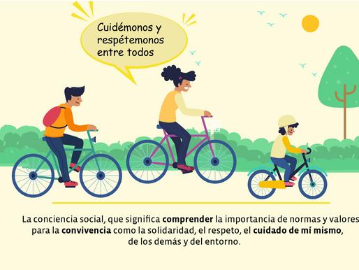 Cuidado y protección de los ciclistas en la vía: una responsabilidad de todos/as