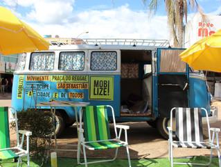 Evento de lazer e cultura na Praça do Reggae