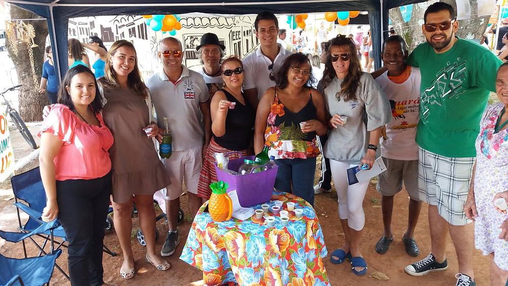 Participação no 'Lazer das Antigas'