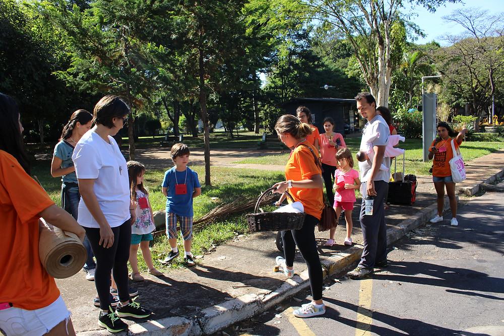 A caminhada aconteceu no sábado (07/05) pela SQS 210