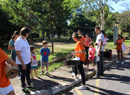 Caminhada da Joaninha: aprendendo desde cedo a cuidar da cidade