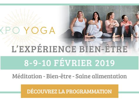 Découvrez Expo Yoga 2019 gratuitement!!