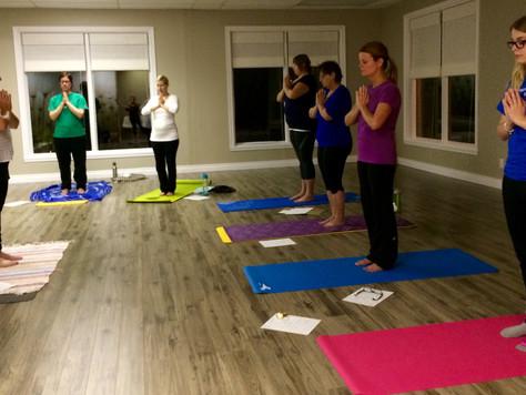 Yoga du soir au Studio, la nouvelle session débute le 25 novembre!