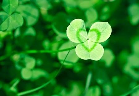 """Fête des Irlandais représentée par la couleur """"verte"""" …..couleur du renouveau!"""