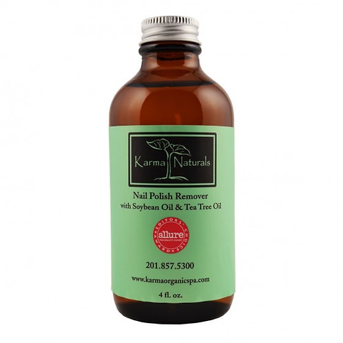 Karma Organic Nail Polish Remover - Soybean Oil and Tea Tree Oil