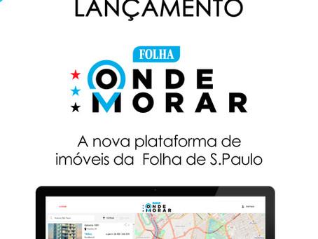 Plataforma de Vendas e Folha de São Paulo se unem para formar um novo portal imobiliário!