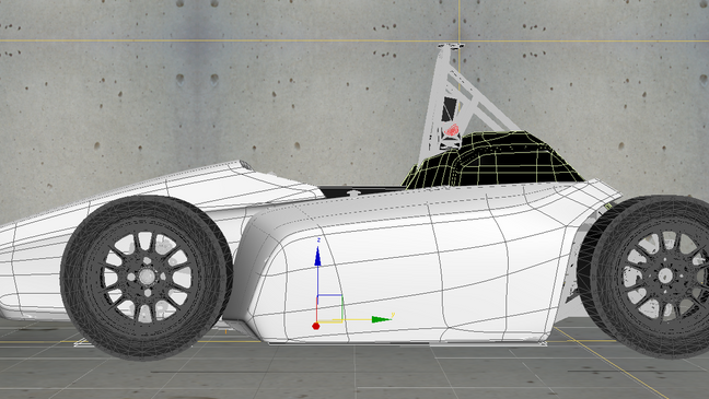 Making of the Formula student electric car body