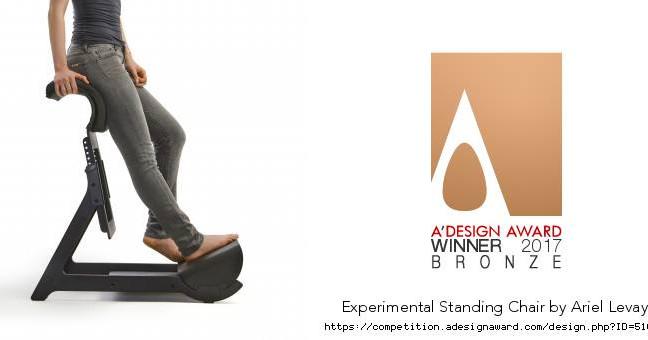 The Experimental Chair won A'Design award