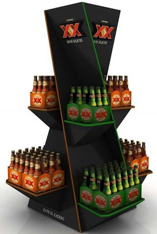 Dos Equis Display Rack