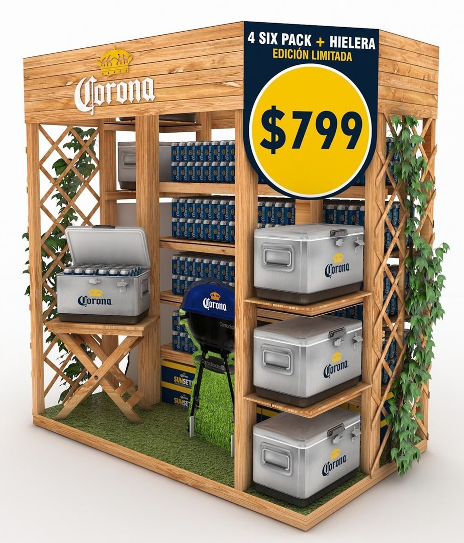 Corona Display Rack