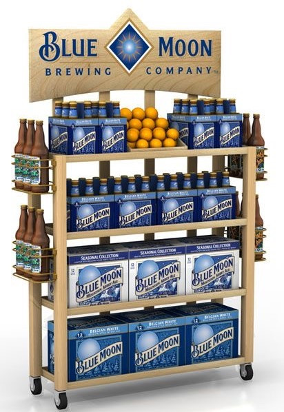 Blue Moon Rack Display