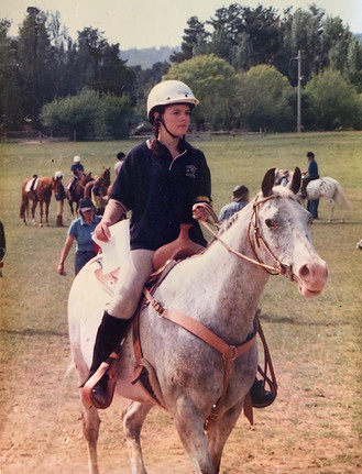 Being a runner at an adult riding club gymkhana