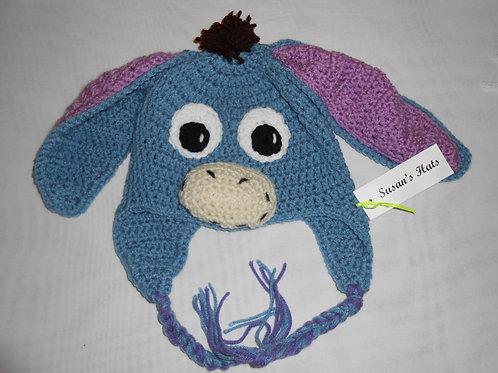 Blue Gray Donkey