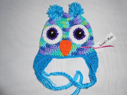 Owl Bright Aqua