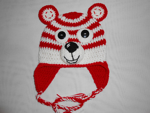 Red & White Bear