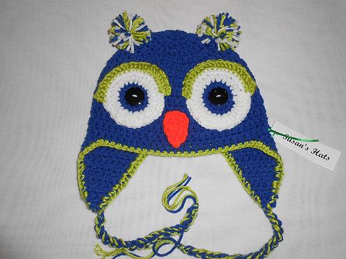 Owl Lime Eyelids