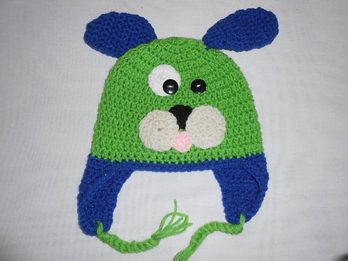 Green Dog Blue Ears