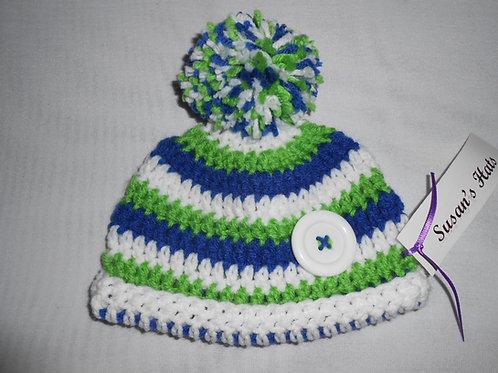 Baby Green Ski Cap