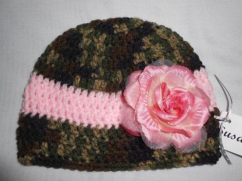 Camo Pink Rose