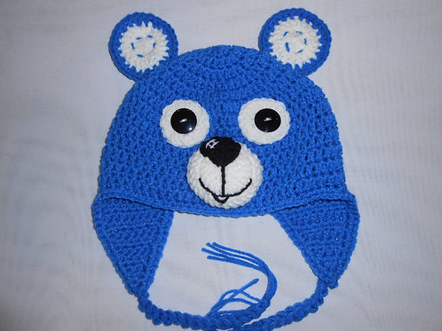 Bright Blue Bear