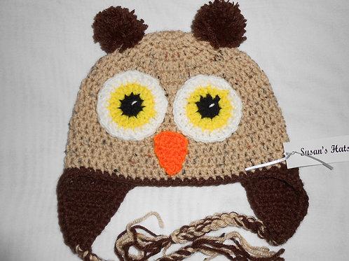 Owl Tan With Brown Ears