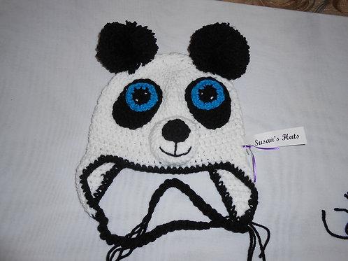 Panda With Blue Eyes
