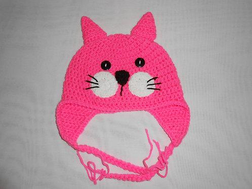 Hot Pink Cat