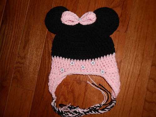 Mouse With Pink Bow