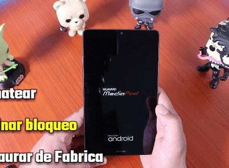 Como desbloquear o quitar Contraseña,Pin,Patron Huawei MediaPad T3