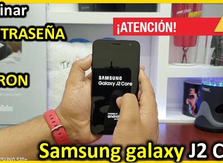 Restaurar de Fabrica Samsung J2 Core